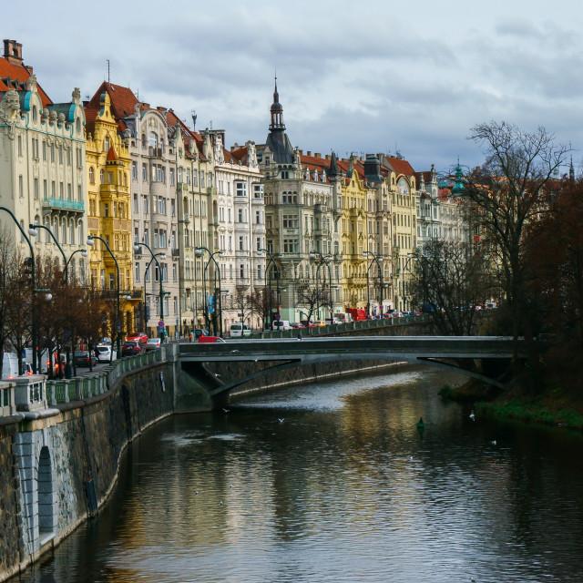 """Colours of Prague"" stock image"