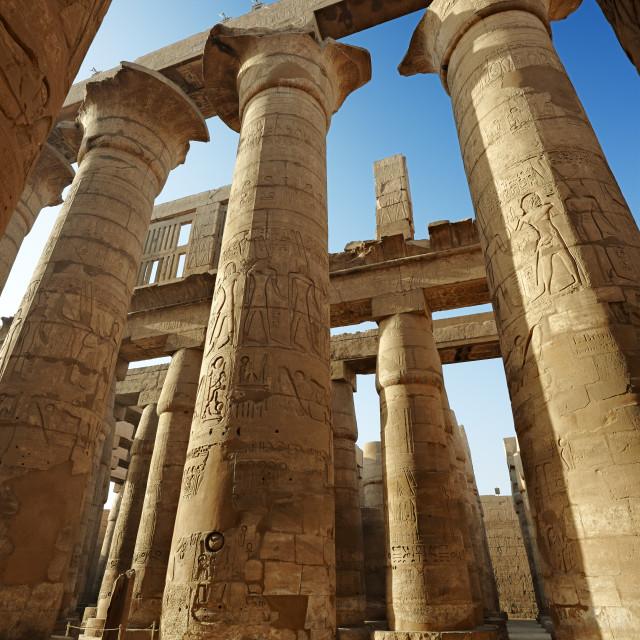 """Karnak Temple Complex"" stock image"