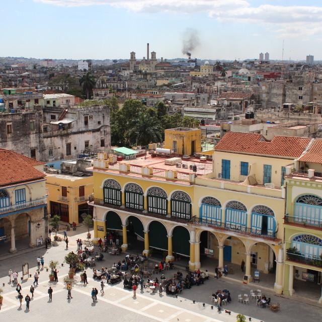 """Centre of Old Havana"" stock image"
