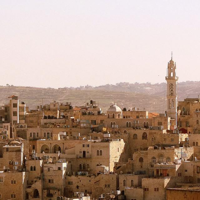 """Bethlehem Skyline, Israel"" stock image"