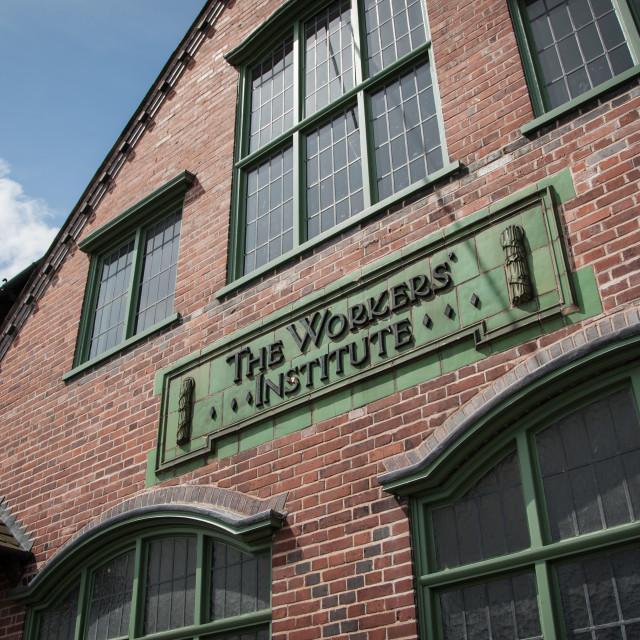 """Workman's Institute"" stock image"