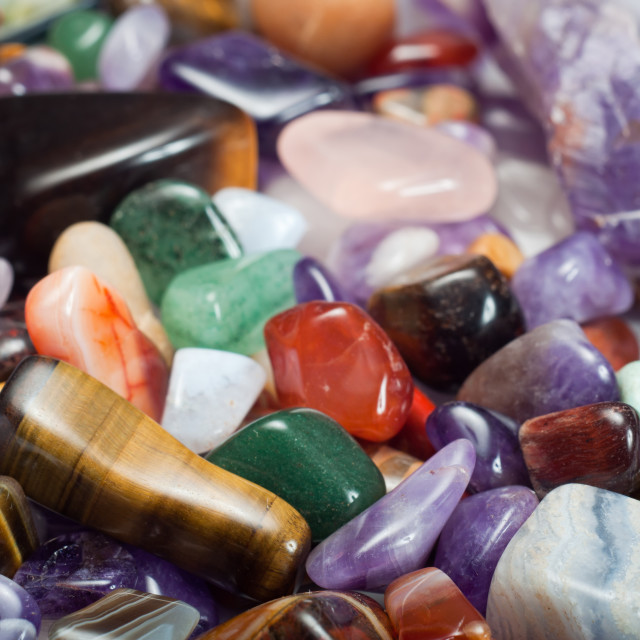 """Gemstones"" stock image"