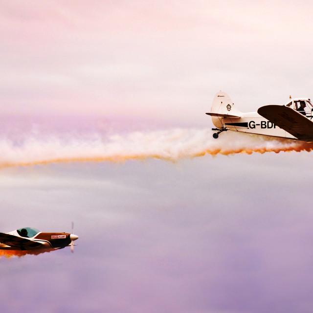 """""""Airshow display"""" stock image"""