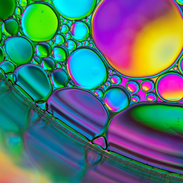 """colourful bubbles"" stock image"