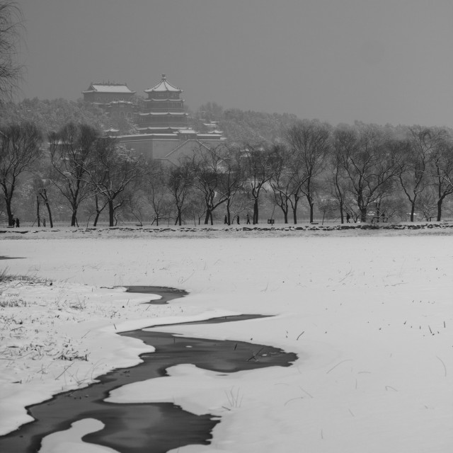 """winter summer palace"" stock image"
