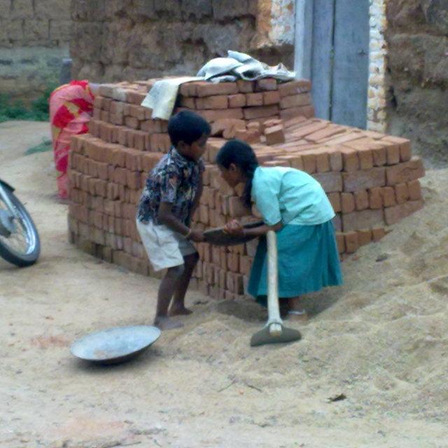 """Child Labour"" stock image"