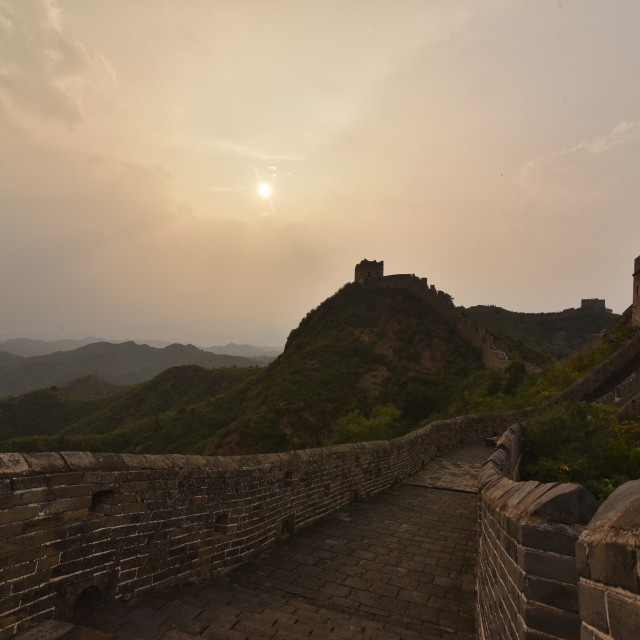"""""""The Great Wall -1"""" stock image"""