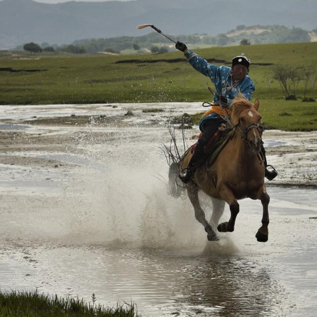 """Horse racing-4"" stock image"