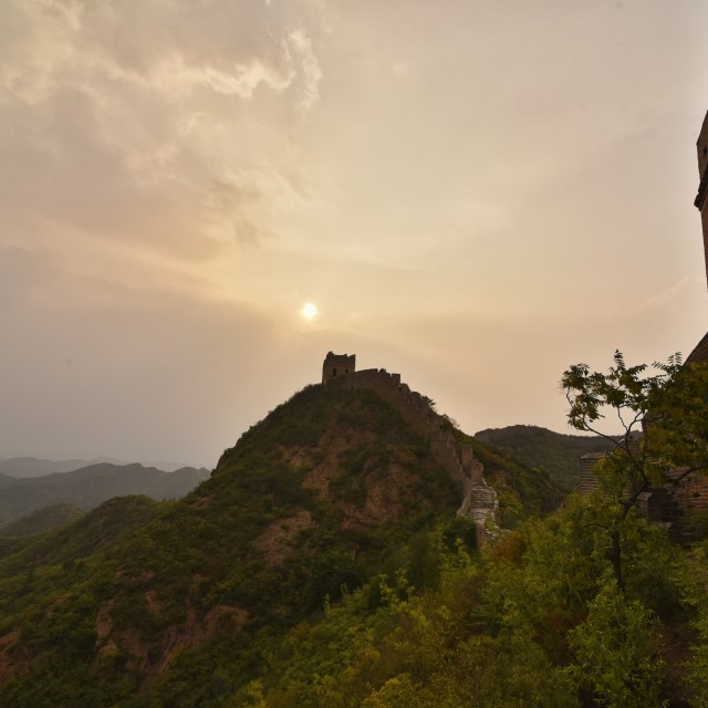 """""""The Great Wall-2"""" stock image"""