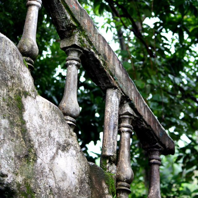 """Balustrade"" stock image"