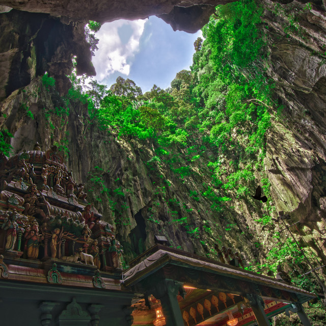 """Batu Caves, Malaysia"" stock image"