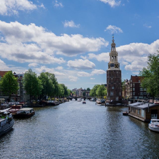 """Amsterdam Canal 2"" stock image"
