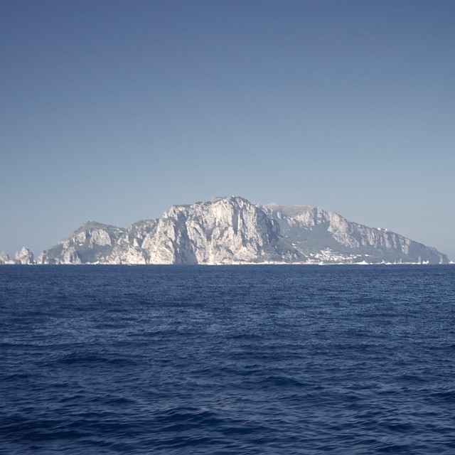 """The Island of Capri, Italy"" stock image"