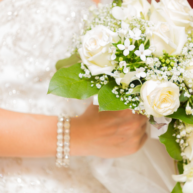 """Bouquet bride"" stock image"