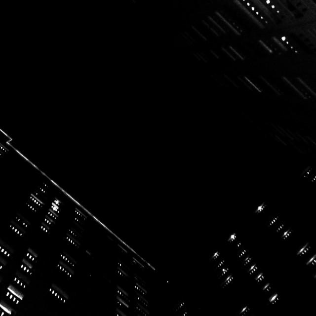 """Ordinary Lights. Unordinary Angle."" stock image"