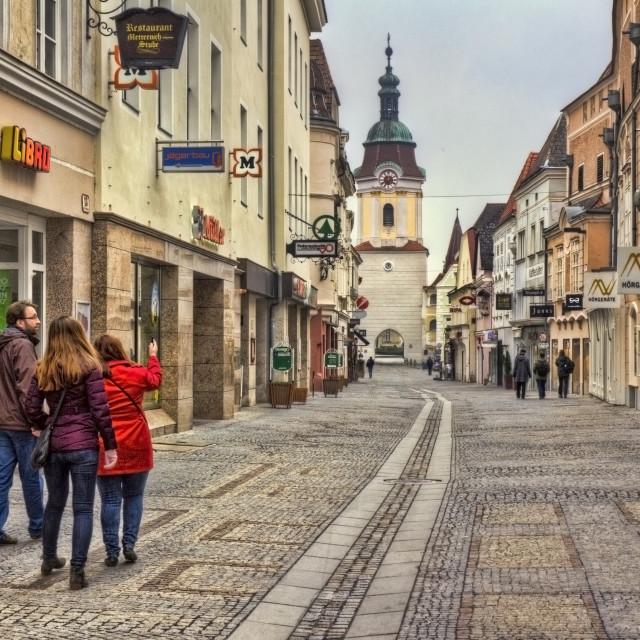 """Krems an der Donau, Austria"" stock image"