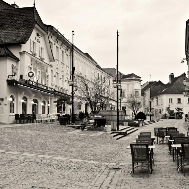 """Melk, Austria"" stock image"