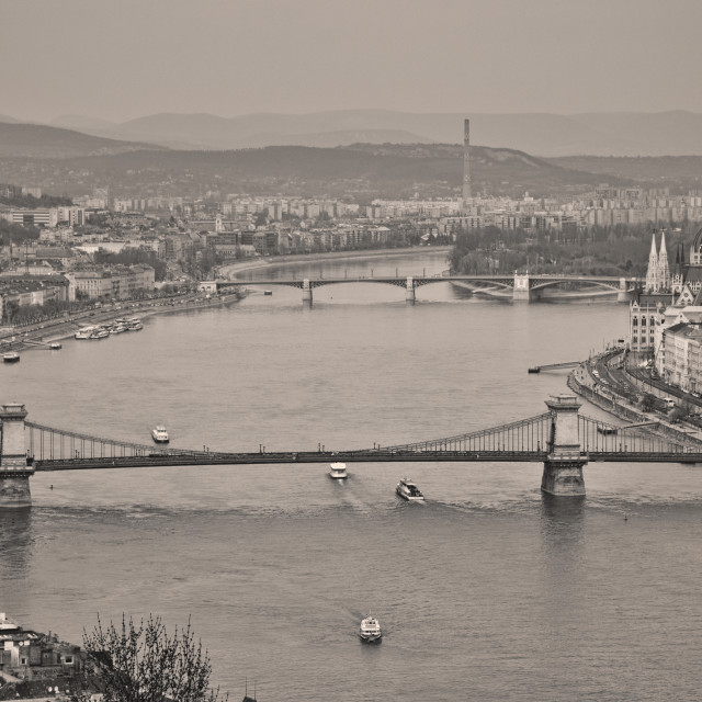 """""""Budapest Cityscape"""" stock image"""