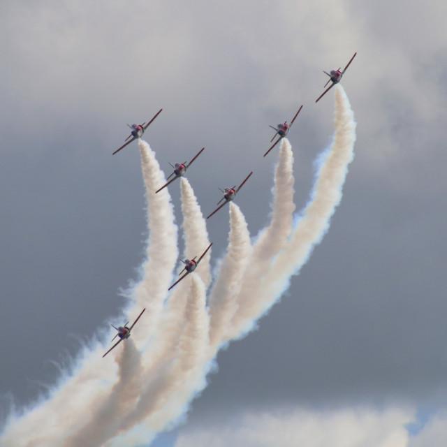 """Aerobatics"" stock image"