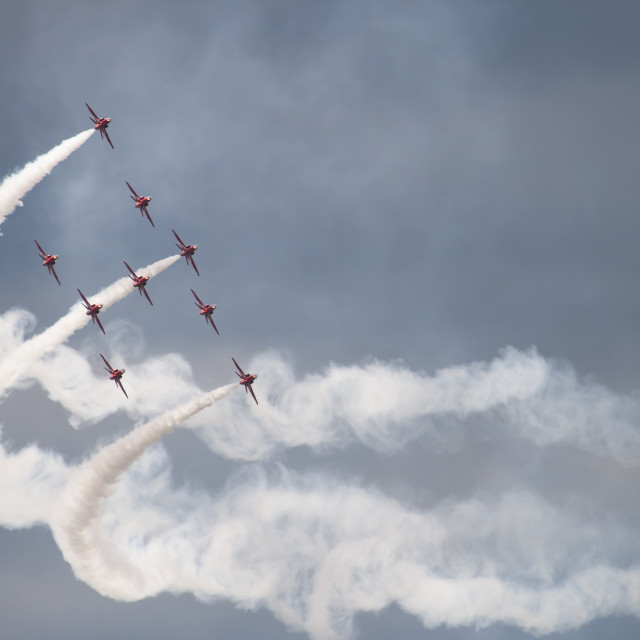 """Reds.... Smoke On... Go...."" stock image"