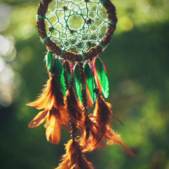 """Dream catcher"" stock image"