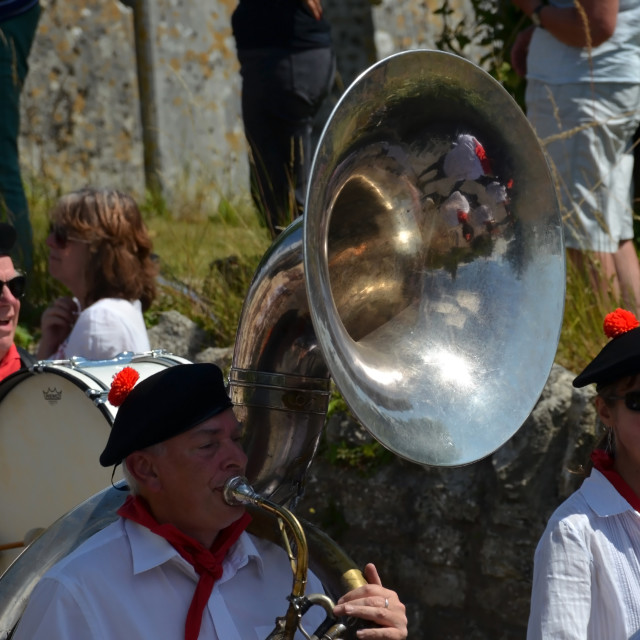 """Brass Band"" stock image"