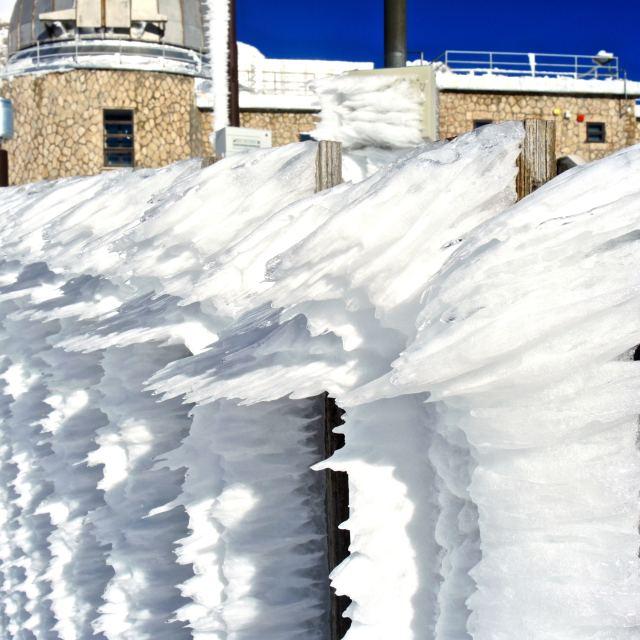"""""""Neve ghiacciata"""" stock image"""