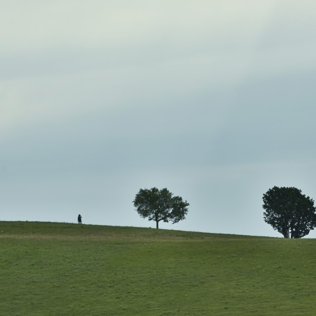 """""""the lonely photographer-2"""" stock image"""