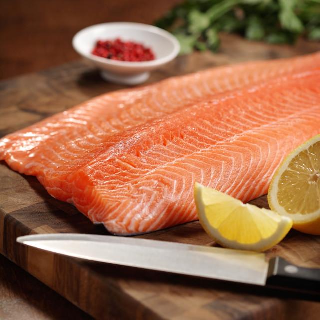 """Salmon"" stock image"