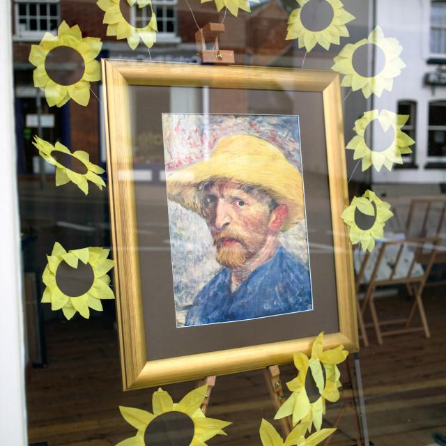 """""""Dutch Painter Vincent Van Gogh"""" stock image"""