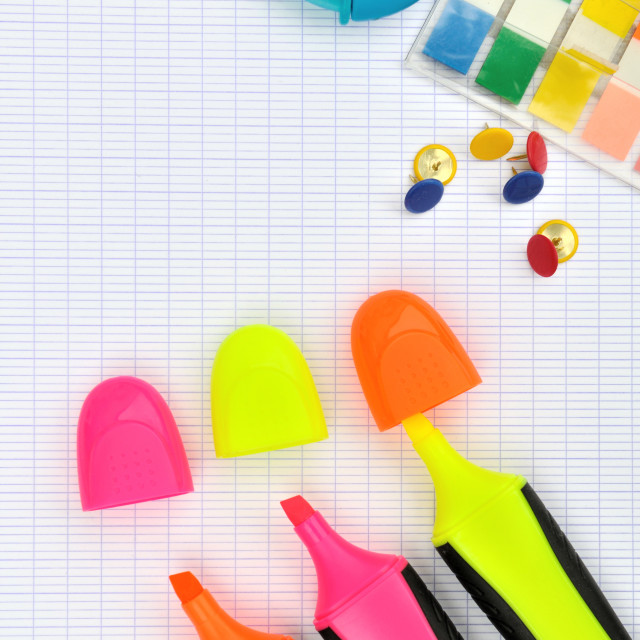 """""""office supplies"""" stock image"""