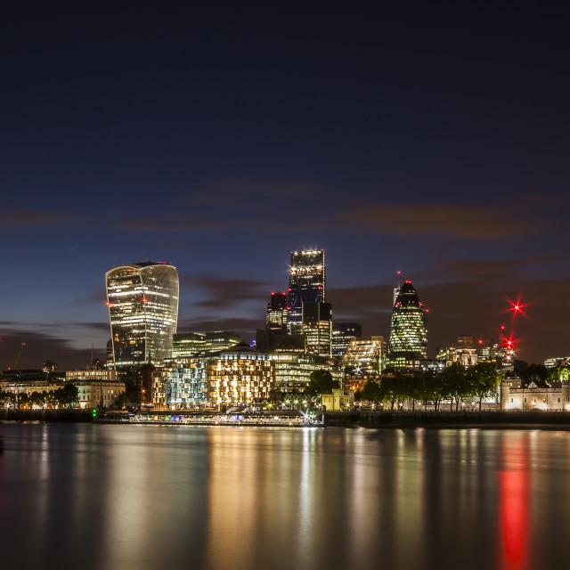 """""""skyline in London"""" stock image"""
