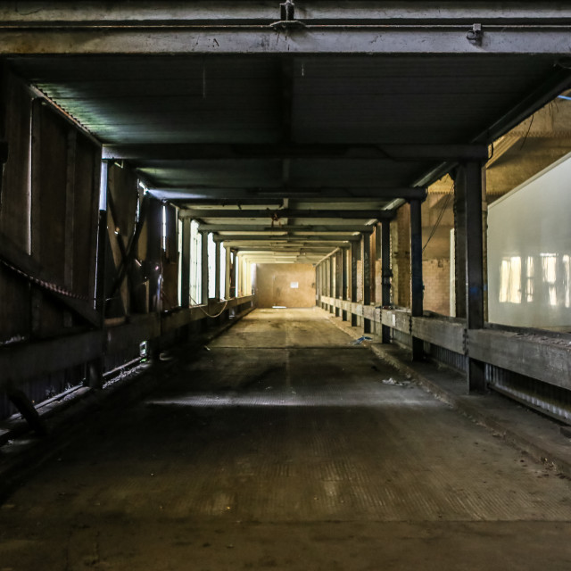 """""""Warehouse Perspective"""" stock image"""