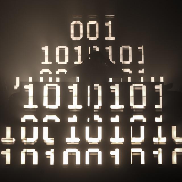 """""""DJ 00110001"""" stock image"""