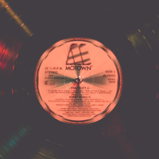 """Motown Record"" stock image"