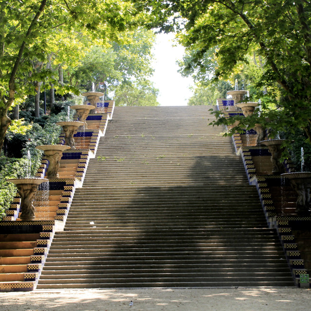 """Flight of Steps"" stock image"