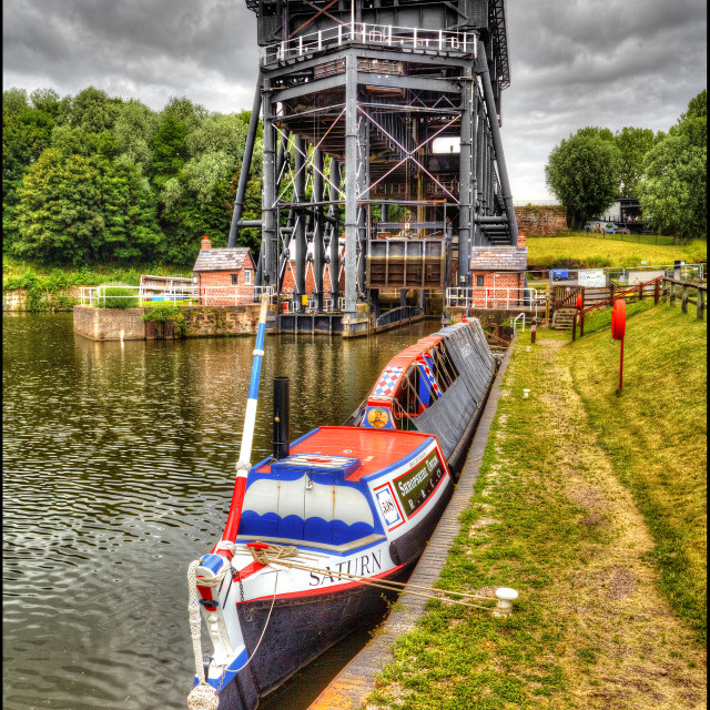 """Anderton Boat Lift"" stock image"