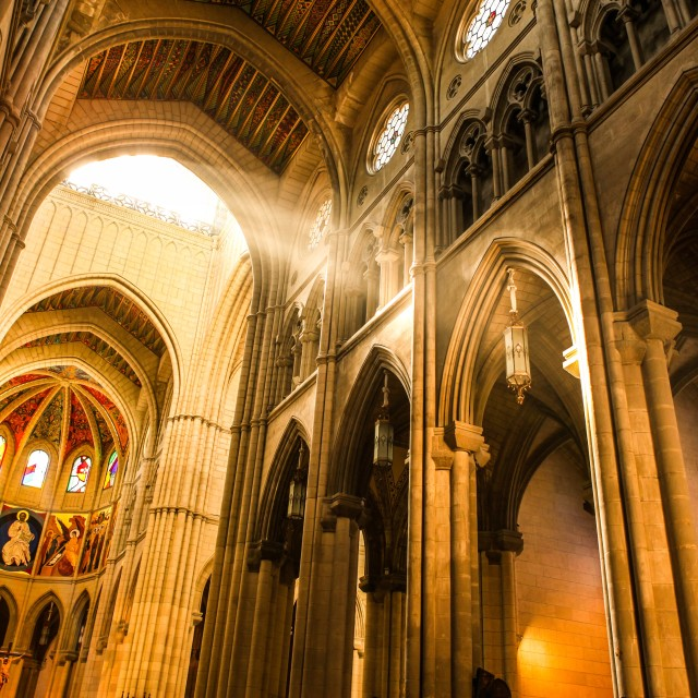 """Holy Light"" stock image"