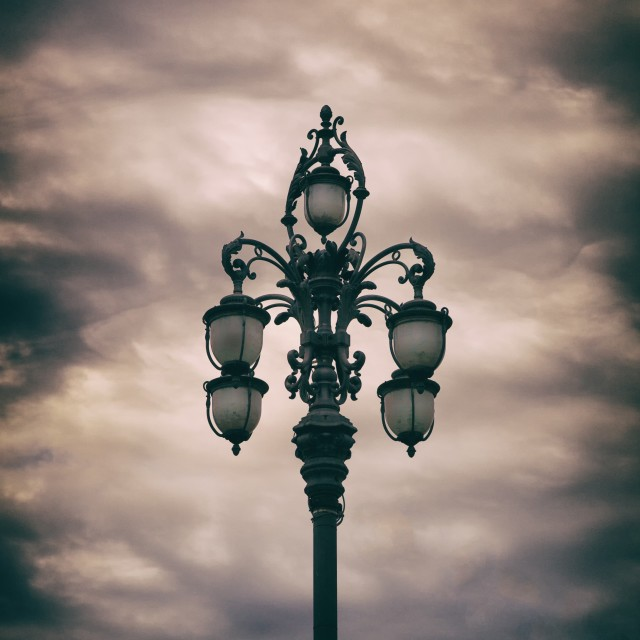 """Street lights"" stock image"