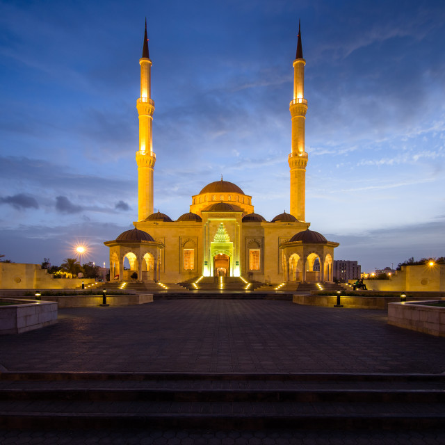 """Turkish Mosque Oman"" stock image"