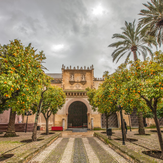"""""""Mosque-Cathedral of Cordoba"""" stock image"""