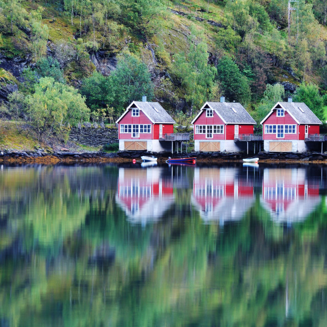 """Scenic View in Norway"" stock image"