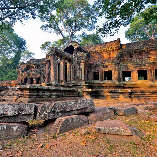 """Ta Phrom temple"" stock image"