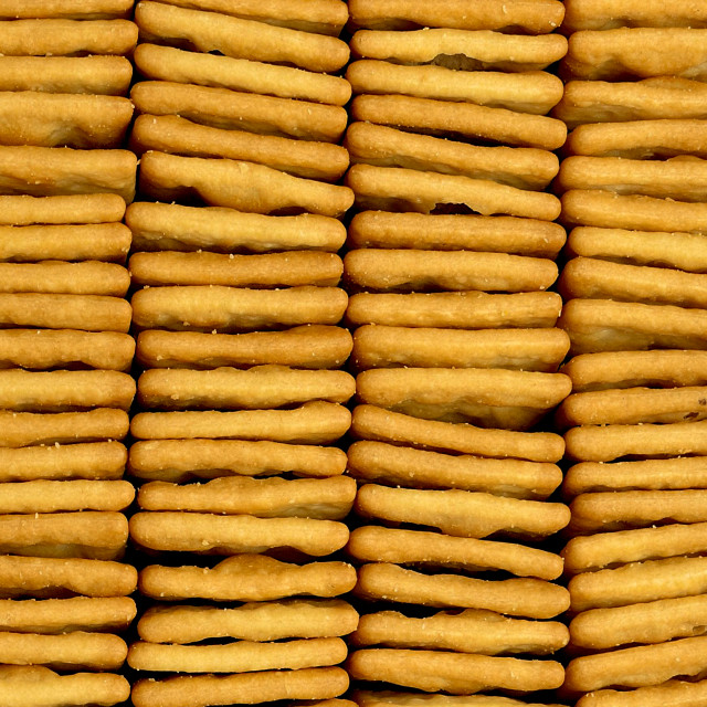 """Group of Cracker Biscuits"" stock image"