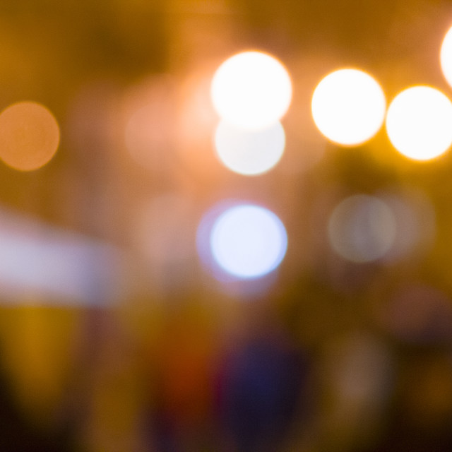 """City bokeh"" stock image"