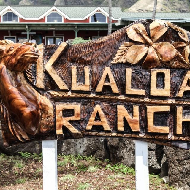 """Kualoa Ranch"" stock image"