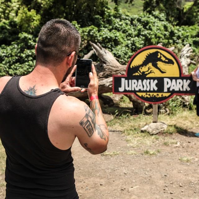 """Jurassk Park"" stock image"