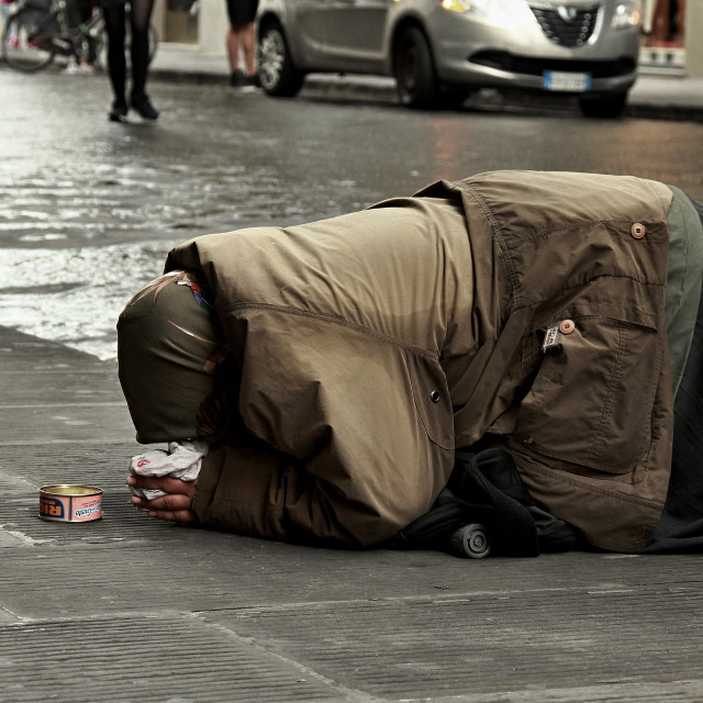 """Beggar"" stock image"