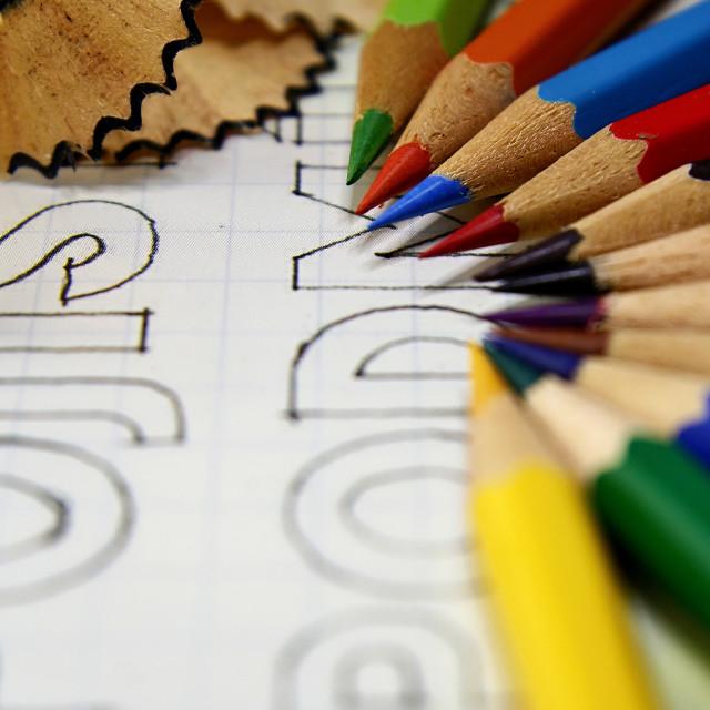 """Crayons"" stock image"