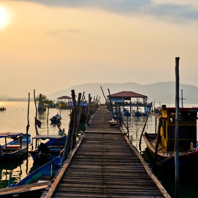 """Pangkor Island of Malaysia"" stock image"
